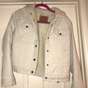 Levi's Sherpa Corduroy Jacket